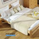 Naturalny urok czyli łóżko drewniane